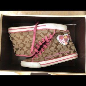 Coach women's sneakers